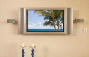 LCD TV & Speakers