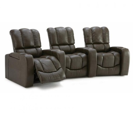 Palliser chic home theater set